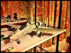 Tank killer (Jim_V) Tags: plane model plastic kit build a10 148 hobbyboss uploaded:by=flickrmobile flickriosapp:filter=nofilter