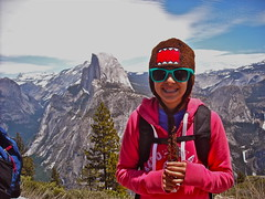 Alexis in front of Half Dome (carloprovencio1) Tags: photographer android flickrandroidapp:filter=none