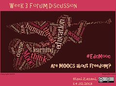 Are MOOCs about freedom?