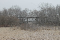 CGW021413SWALE1 (eslade4) Tags: trestle bridge abandoned wooden trail swaledale cgw exup excgw excnw