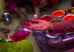 Woman With Rupees, Maha Kumbh Mela, Allahabad, India (Eric Lafforgue) Tags: red india festival horizontal outdoors photography asia day hand indie multicolored indi hinduism indien pilgrimage hind indi oneperson inde hodu sangam allahabad haridwar vibrantcolor indland  hindistan uttarpradesh rupee indija   kumbhmela colorimage ndia hindustan indianculture  0467    hindia  indianethnicity bhrat  indhiya bhratavarsha bhratadesha bharatadeshamu bhrrowtbaurshow  hndkastan