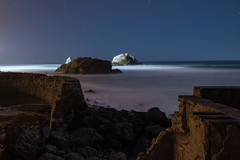 Beyond the Ruins (eCHstigma) Tags: sf california longexposure seascape zeiss landscape nikon distagon d600 25mmf2 sutrobathsruinssanfrancisco distagont225