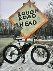Pfft... (WickedVT) Tags: sign vermont dirt mukluk marketst fatbike