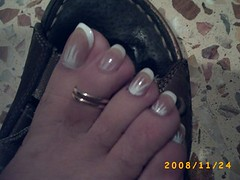 PICT0049 (sandalman444) Tags: man male sandals nail polish pedicure toenails toerring