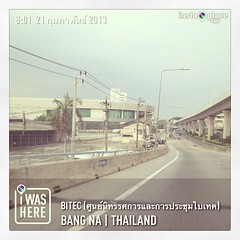 #instaplace #instaplaceapp #instagood #travelgram #photooftheday #instamood #picoftheday #instadaily #photo #instacool #instapic #picture #pic @instaplaceapp #place #earth #world  #thailand #bangna #bitecศูนย์นิทรรศการและการประชุมไบเทค #street #day
