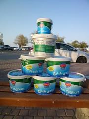 """25kg of yogurt pots (John Steedman) Tags: pots yogurt oman muscat yaourt 25kg jogurt 阿曼 sultanateofoman مسقط سلطنةعُمان オマーン yogurtpots 오만 """"オマーン国"""" """"阿曼蘇丹國"""" 25kgyogurt"""