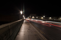 Ayr Bridge (Nick Lambert!) Tags: street longexposure light night scotland nikon ayr streetscape nikond90 ayrbridge