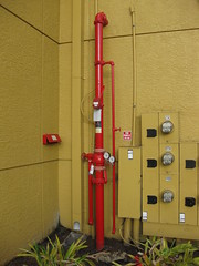 Outside riser control (preaction1) Tags: valve firesprinkler nozzle fireprotection