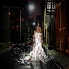 Fumee Couture (photoacumen) Tags: dark alley smoke manipulation layers compilation mygearandme pse9