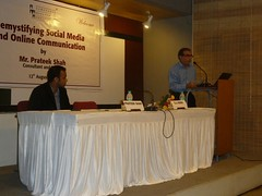 Green Smyles Demsytifying Social Media and Online Communication Ahmedabad Seminar Workshop Prateek Shah 2
