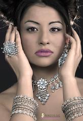 FIRST CLASS (mamdouh auf) Tags: woman art girl beauty face diamonds neck 3d colours handmade indian egyptian designs accessories beautifil cnc