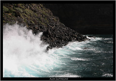 Wave Explosion (alon_gutf) Tags: ocean nature water canon landscape photography islands spain rocks waves shore 5d canary lapalma canaries powerful