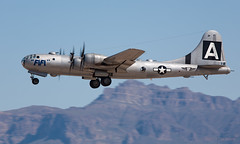 B29 FIFI (Tom_Morris Photos) Tags: wwii boeing fifi caf warbird b29 superfortress b29a iwa kiwa commemorativeairforce confederateairforce n529b phoenixmesagatewayairport 4462070 model345 cafairpowerhistorytour