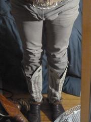 Got the Tony Lamas on (smith1947) Tags: cowboy boots tony jeans lama tight buckle olathe
