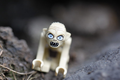 Gollum in the rock