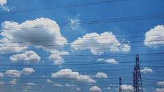 Big skies and power lines