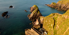 Dunquin pier (Barbara Walsh Photography) Tags: trip ireland seascape water ferry boat holidays tour kerry dinglepeninsula blasketislands dunquinpier