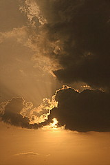 .... () Tags: sunset sky sun sunlight colors sunshine yellow mystery clouds canon clean malaysia kualalumpur     canon400d