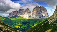 italy panorama mountain hot colour art nature digital... (Photo: _Cluke_ on Flickr)