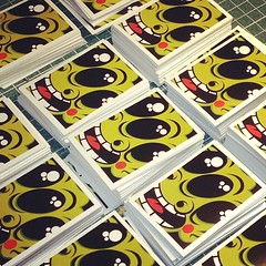 new stickers (setdebelleza) Tags: streetart illustration stickerart stickers slaps setdebelleza