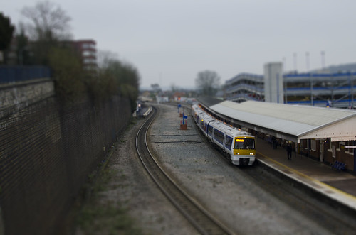 Model Train at Wycombe