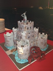 "Medieval castle cake and dragon 2 • <a style=""font-size:0.8em;"" href=""http://www.flickr.com/photos/60584691@N02/8547251982/"" target=""_blank"">View on Flickr</a>"