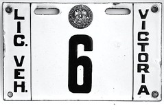 VICTORIA B.C. PRE PROVINCIAL 1910's LICENSE PLATE (woody1778a) Tags: world auto canada cars car sign vintage edmonton photos tag woody plate tags licenseplate collection number photographs license plates foreign numberplate licenseplates numberplates licenses cartag carplate carplates autotags cartags autotag foreigns pl8s worldplates worldplate foreignplates platetag