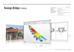 Tarango Bridge in Mexico (MIDAS IT) Tags: bridge project mexico cable structure application civil pont dart stayed midas voute analysis poutre suspendu ouvrage analyse tarango haubant structurelle