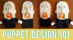 Puppet Design 101 (abbey*christine) Tags: puppet workinprogress felt comedian process fingerpuppet abbeychristine louisck