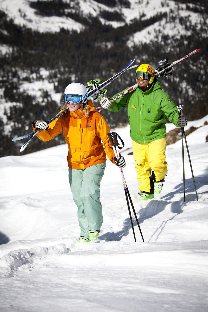 Try out one of the many hikes at Alpine where you can seek out untouched powder and peaceful moments on the ridgeline