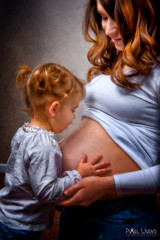 Jessica and Maddie (dcimageforge (Danny Collado PixelWorks Photography) Tags: family portrait baby lightpainting love beautiful kids studio children mom kid nikon flickr child north memories northcarolina headshot maternity carolina 28 bella speedlight retouching d800 2470 2013 strobist pixelworks sb700 dcimageforge dannycollado