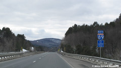 On the road (Gerard Donnelly) Tags: winter mountain snow forest montagne vermont hiver route neige interstate autoroute foret vt higway