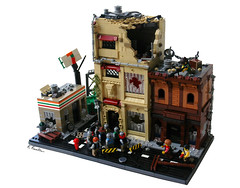 The Walking Dead (K.Kreations) Tags: walking dead lego 7 builders clutch zombies the elleven 2013 mocathalon