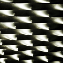 mesh (morbs06) Tags: light shadow abstract detail monochrome lines metal reflections germany pattern graphic mesh stripes curves screen dortmund
