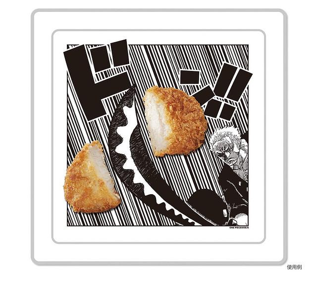 衝勁十足~充滿魄力的『海賊王』漫畫餐盤!!!