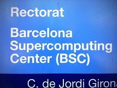 yeah! (Thundershead) Tags: supercomputer upc supercomputing marenostrum top500 torregirona supercomputadora upccampusnord uploaded:by=flickrmobile flickriosapp:filter=orangutan orangutanfilter bscbarcelonasupercomputingcenter