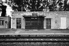 PB19 (Mimmo Arnesano) Tags: bw bn stazione salento casello ferrovia binari 2013 ilcorsaro tuturano mimmoarnesano fotofucina