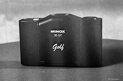 Minox GT Golf-SW_F4s_Ilford_HP5_1992 (irisisopen f/8light) Tags: white black film analog nikon kodak motive pocket schwarzweiss kamera