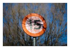 15 (leo.roos) Tags: a900 sign verkeersbord 15km darosa leoroos cyclop russianlenses sovietglass cyclop8515 m42 h3t1 romz