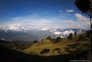 Cañon Rio Arma. Limites de Antioquia y Caldas