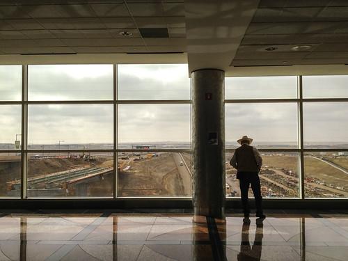 airport cowboy
