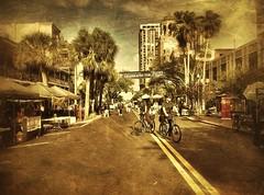 Bike Patrol (Michael Coyne) Tags: city bike bicycle stpetersburg tampabay florida police streetscene pinellas ipad sppd iphoneography