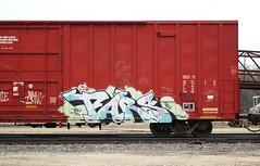 Tars (quiet-silence) Tags: railroad art train graffiti railcar boxcar graff freight aa tars fr8 atw aacrew atw84184