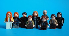 House Stark (th_squirrel) Tags: house snow game castle jon lego rob arya stark jaime bran thrones tyrion sansa eddard catelyn joffery lannister hodor cersei tywin rickon