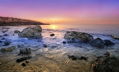 Focusing! (khalid almasoud) Tags: morning light sea beach glitter sunrise rocks waves ray pentax good sigma edge kuwait 11mm shining focusing icapture     greatphotographers       k01 alkhairan 10mm20mm     thebestofday gnneniyisi