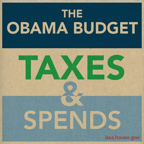 the Obama Budget Taxes & Spends