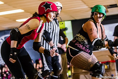 IM389430 (Joe Rollerfan) Tags: referee rollerderby rollergirls rollerskating dutchangle johnfouljohn lalalowslam misshellonwheels