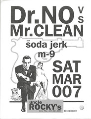 Dr No vs Mr Clean and Soda Jerk m-9
