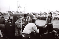 Rollei B35 Mooneyes Kids () Tags: california camera bw white black classic film rollei 35mm vintage germany kodak tmax retro meter compact