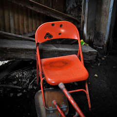 'The Execution Chair' ~ Joliet Prison Rock Crushing Building (Viewminder) Tags: abandoned exploring holes adventure together urbanexploration bullet derelict understanding joliet havinfun urbex goingin jolietprison agoodtime lovinlife viewminder alittleexcitement viewminderettes rockcrushingbuilding exploringwiththecrew